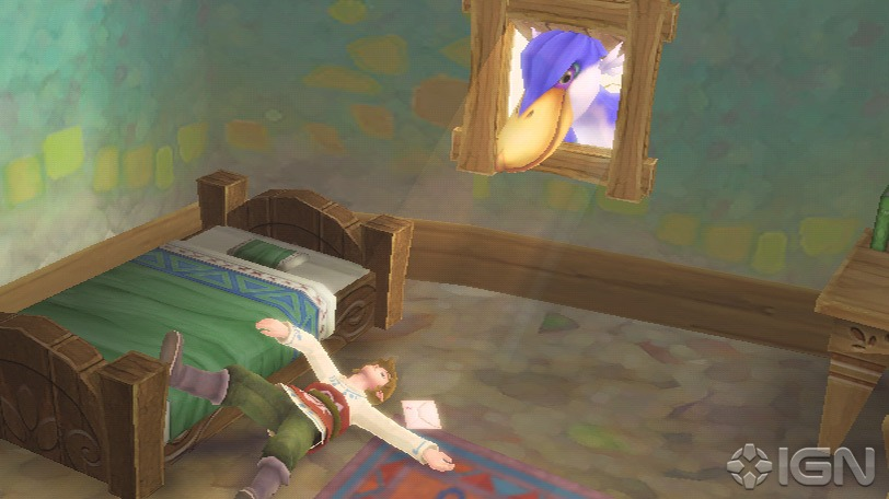 If you regularly wake up not remembering what you've done the night before and see purple birds, people tend to put you in a ward. In games, they just call you Link and give you a sword to save a princess.